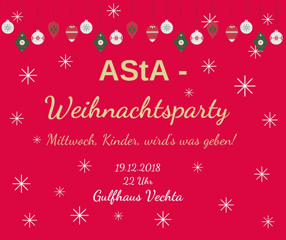 AStA-Weihnachtsparty @ Gulfhaus Vechta
