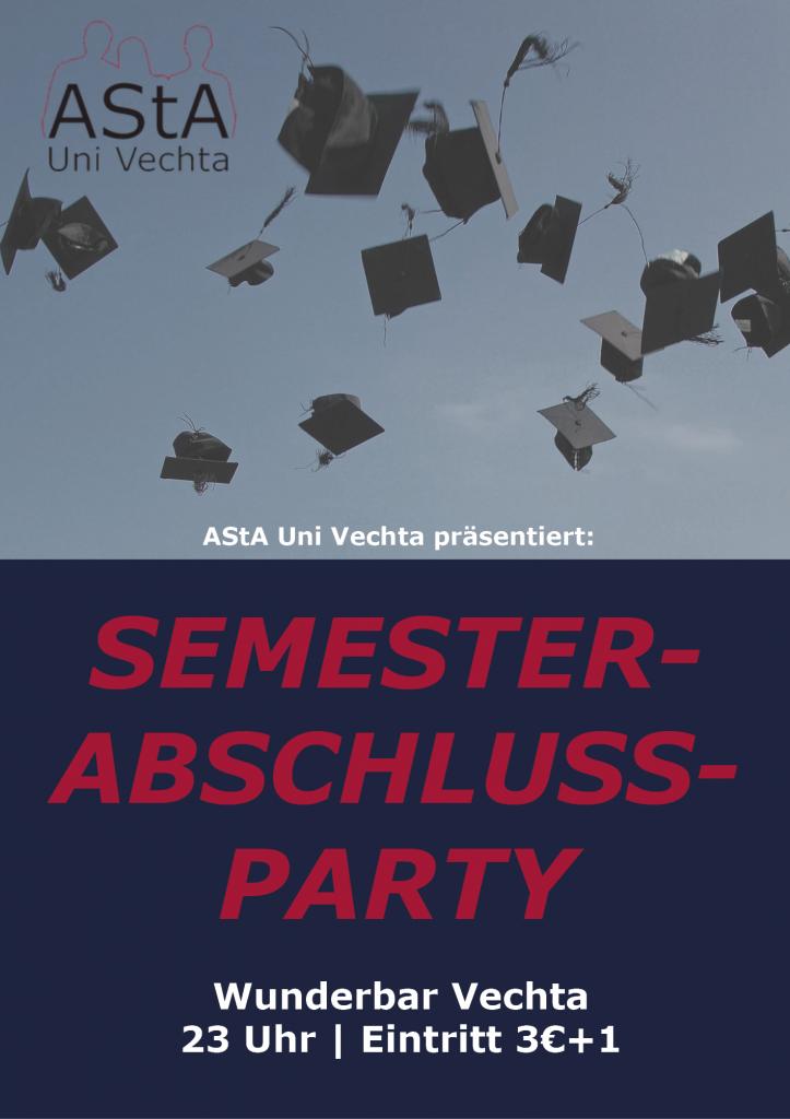 Semesterabschlussparty @ Wunderbar Vechta