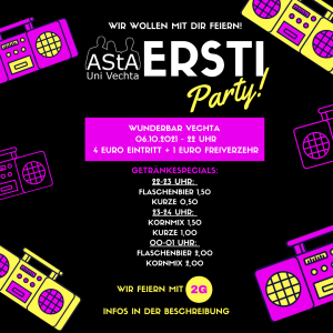 AStA Ersti-Party @ Wunderbar Vechta